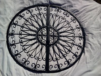 Decorative Wrought iron wall Grill